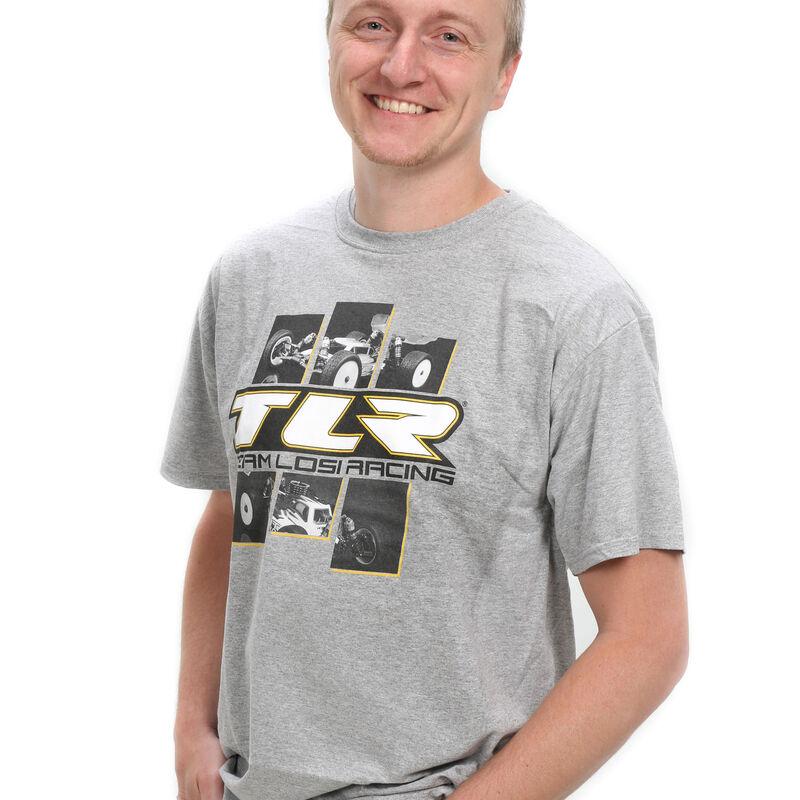 4.0 Grey T-Shirt, Medium