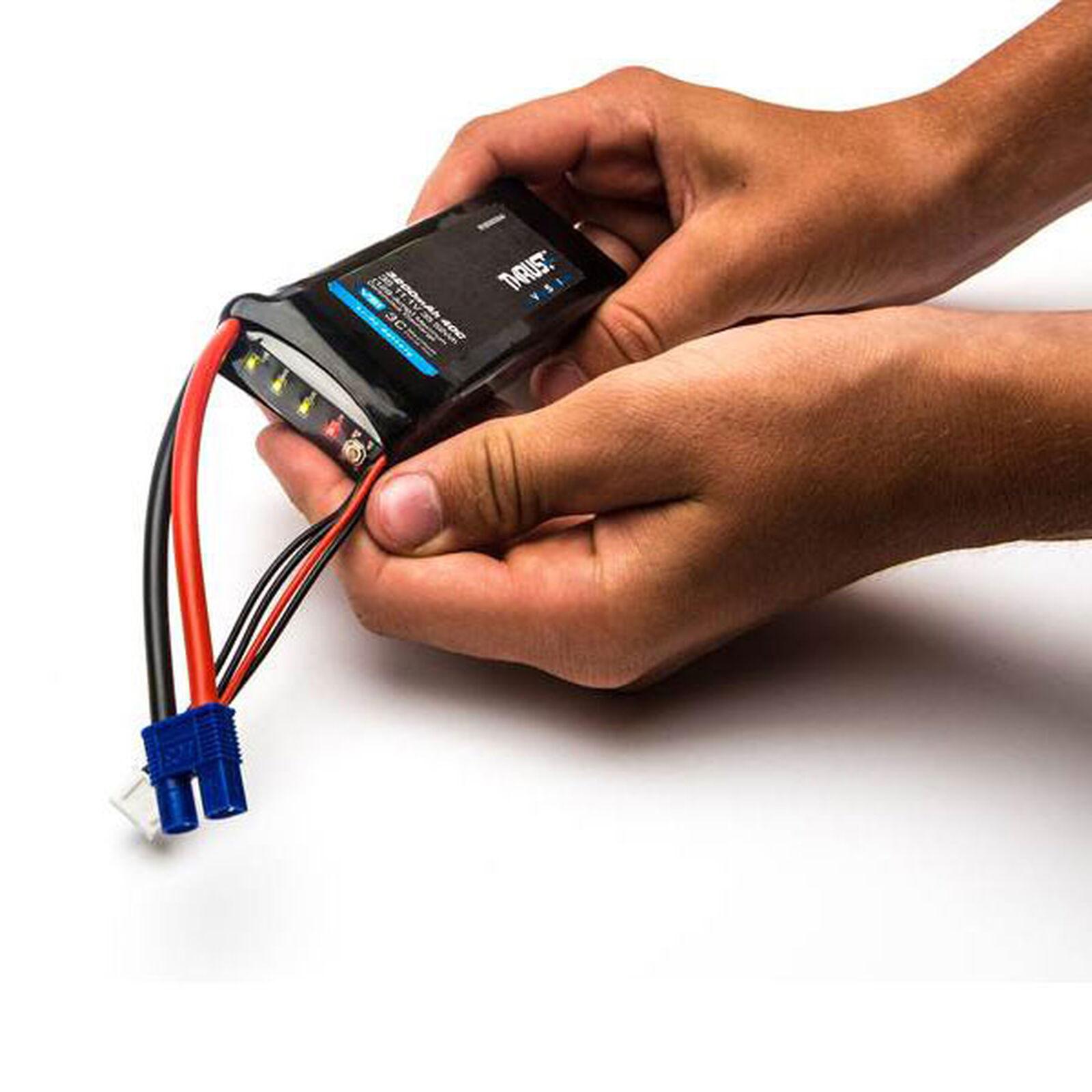 11.1V 2400mAh 40C 3S Thrust VSI LiPo Battery: EC3