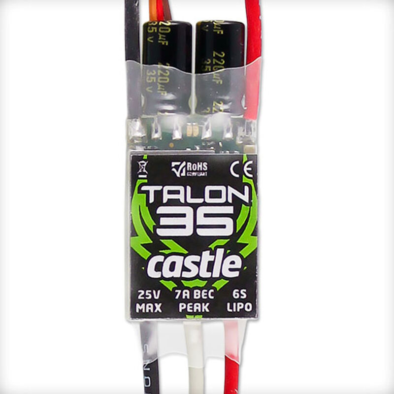 Talon 35-Amp 25V ESC w/7-Amp BEC