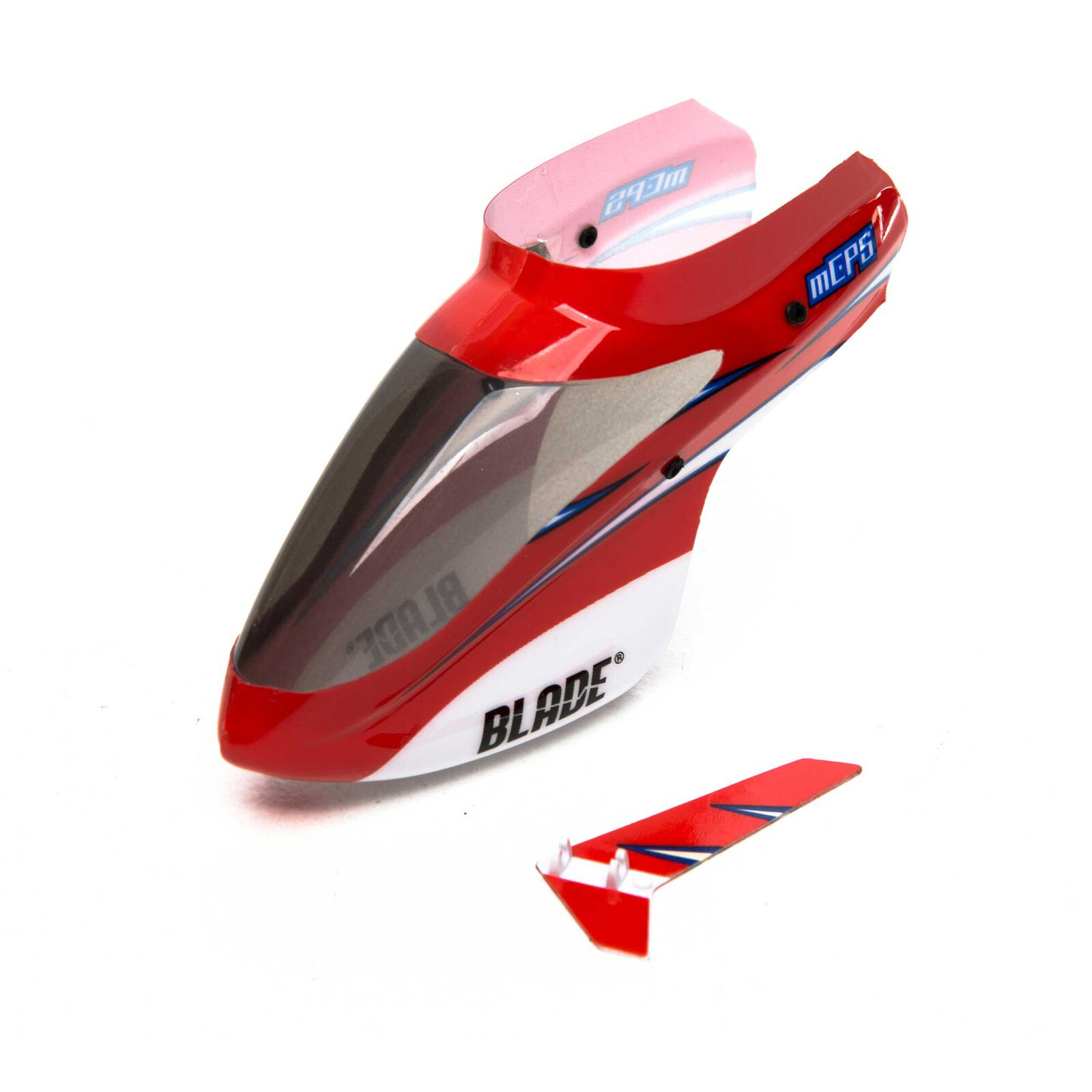 Complete Red Canopy with Vertical Fin: mCP S