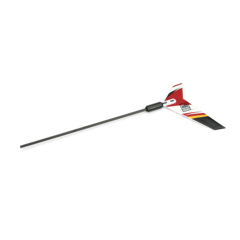 Carbon Fiber Tail Boom with Fin: BMCX2