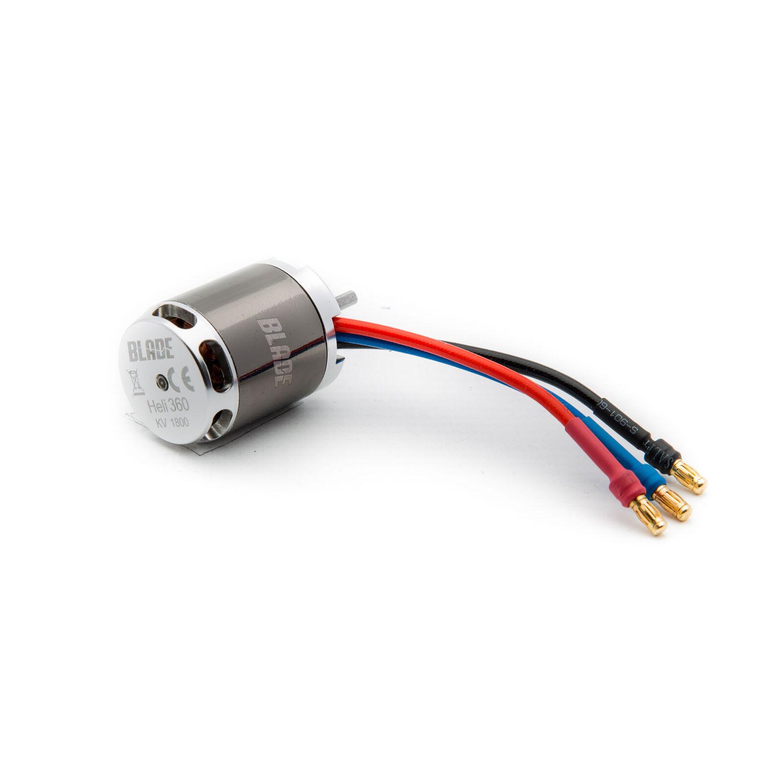 Brushless Outrunner Motor, 1800Kv: 360 CFX