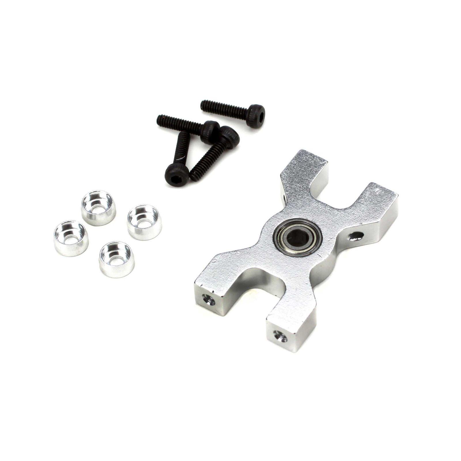 Aluminum Tail Drive Shaft Lower Bearing Block: B450, B400