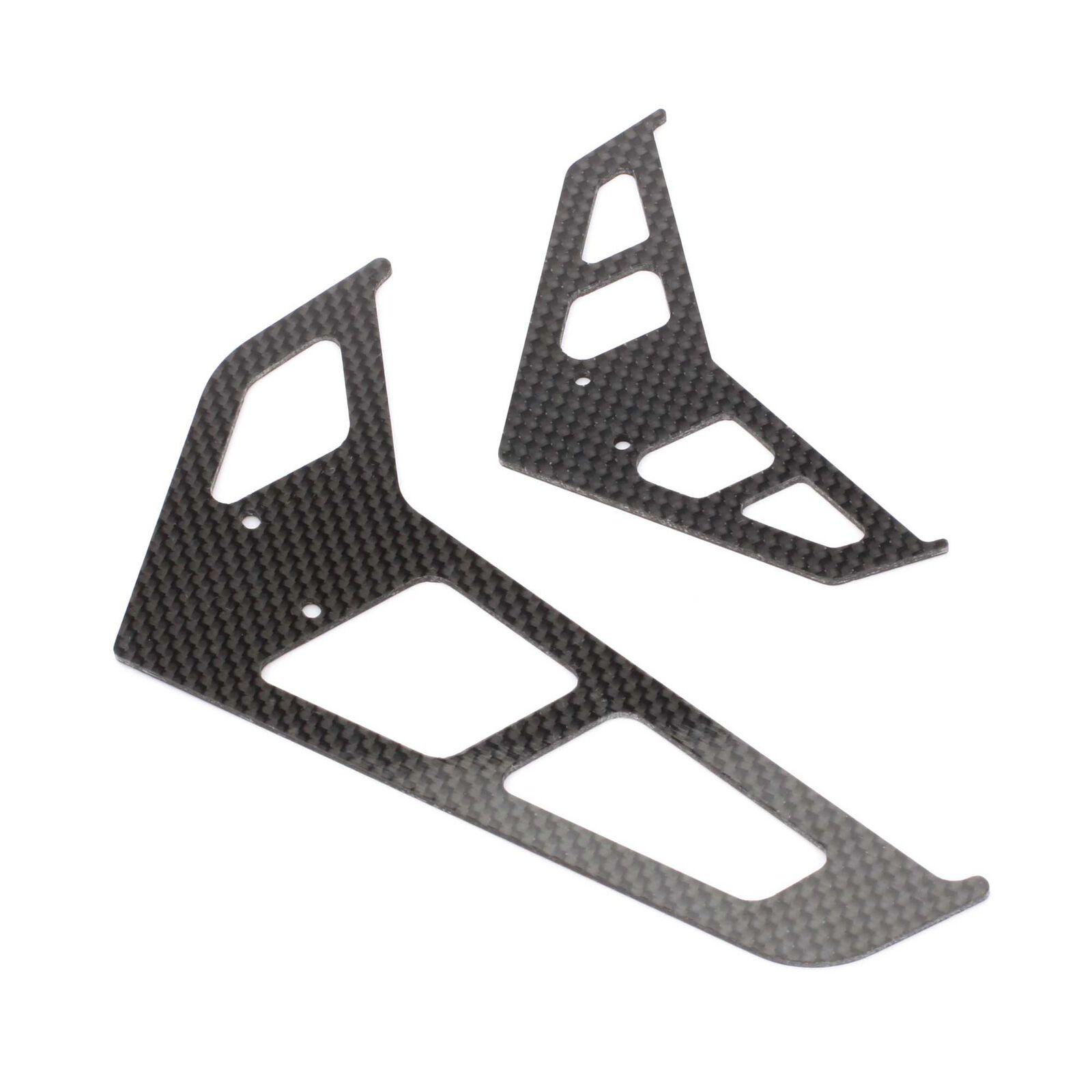 Carbon Fiber Fin Set: B500 3D/X