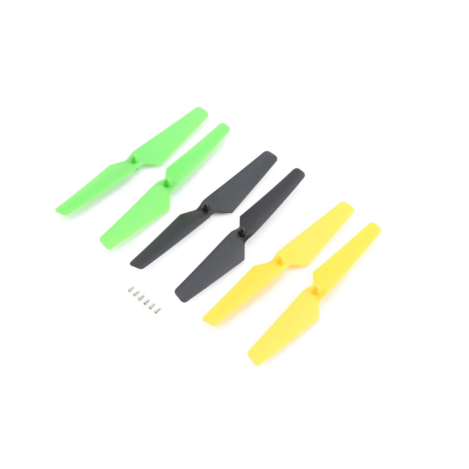 Prop Set, Yellow, Green, Black: Zeyrok (6)