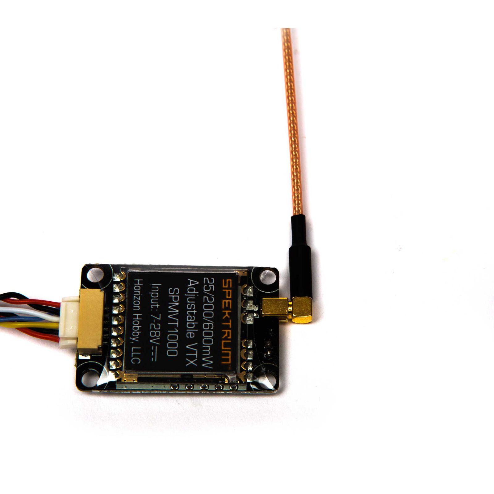 25-200-600mW Adjustable Power Video Transmitter