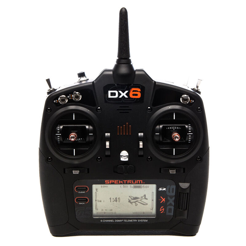 DX6 6-Channel DSMX Transmitter Only Gen 3