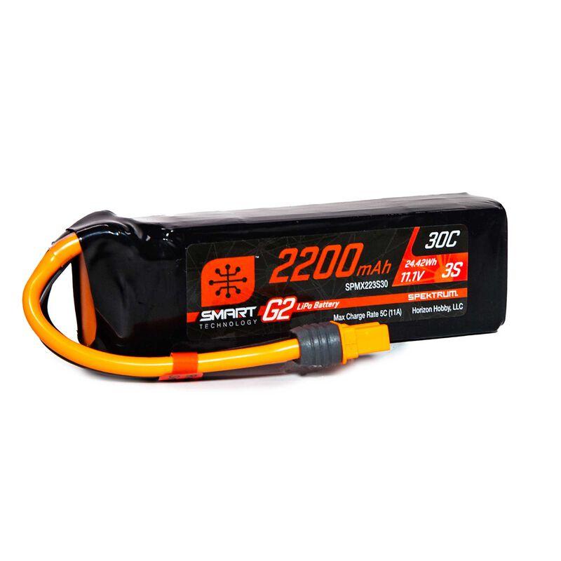 11.1V 2200mAh 3S 30C Smart LiPo G2: IC3