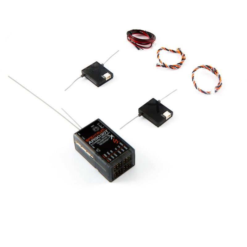 AR9030T DSMX 9-Channel Air Integrated Telemetry Receiver