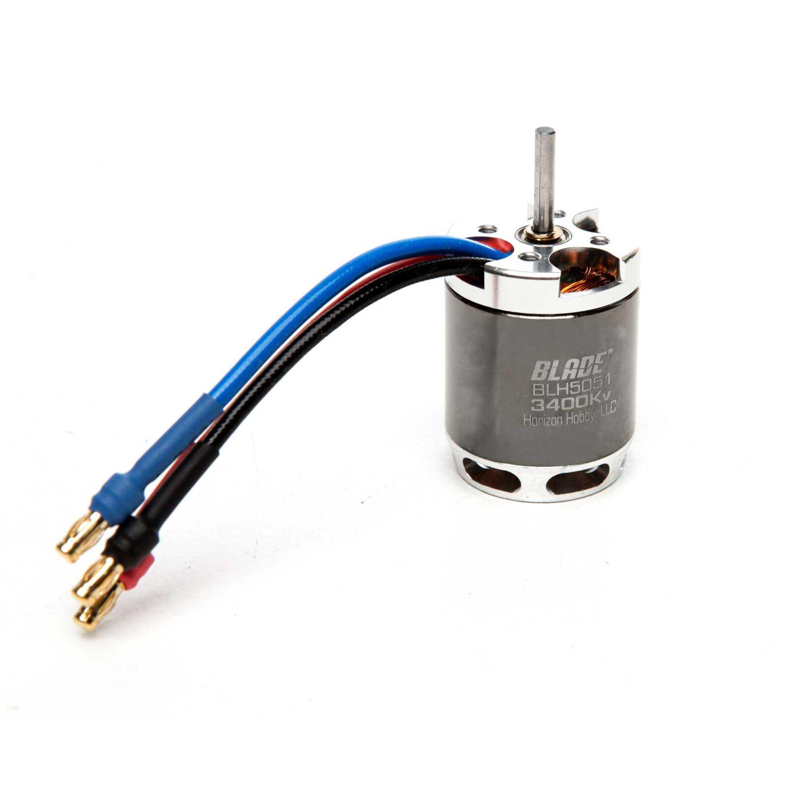 Brushless Outrunner Motor, 3400Kv: 360 CFX