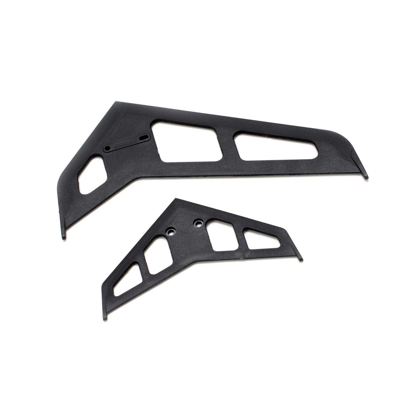 Stabilizer Fin Set Black: B500 3D/X