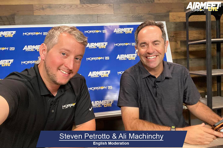 Steven Petrotto and Ali Machinchy